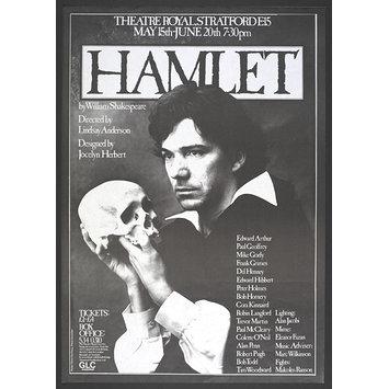 Hamlet poster V & A TRSE